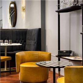 Coffee lounge area